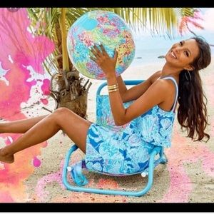 Lilly Pulitzer Lovers Coral Beach Ball